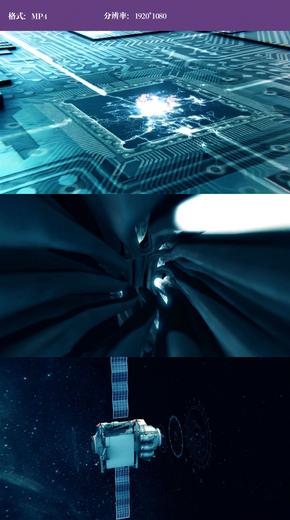 卫星数据传输视频