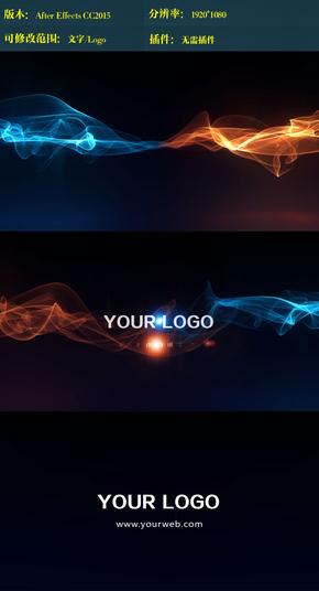 绚丽光效演绎logo ae模板
