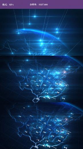 地图布局全国视频