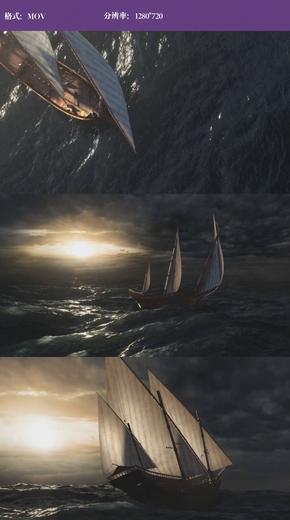 扬帆起航企业文化宣传必备视频