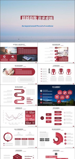 商务介绍案例开发产品销售营销PPT模版