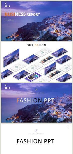 【时尚画册风】产品发布 摄影广告 营销展示 通用高端模板