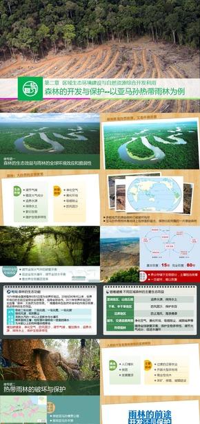 《森林的开发和保护》人教地理必修三高三一轮复习课件[爱弄PPT的老范]