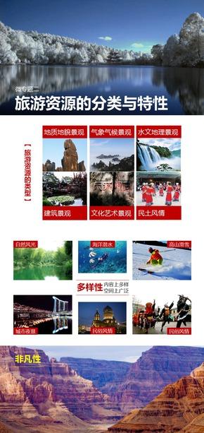 选修3旅游地理《微专题2.旅游资源的分类、特性与价值》课件【田俊】