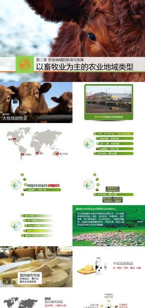 《以畜牧业为主的农业地域类型》人教地理必修二高三一轮复习课件[爱弄PPT的老范]