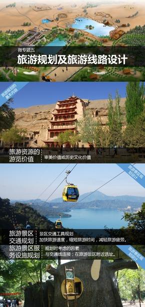 选修3旅游地理《微专题5.旅游规划及旅游线路设计》课件【田俊】