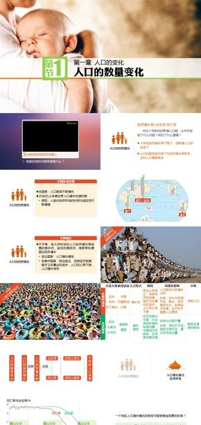 《人口的数量变化》第三代人教地理必修二同步课件【@爱弄PPT的老范】
