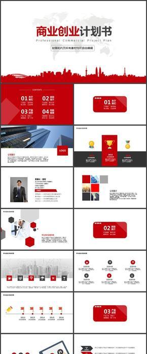 活力红商业创业计划书