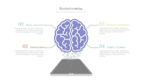 大脑风暴头脑风暴PPT图形素材(共1页)
