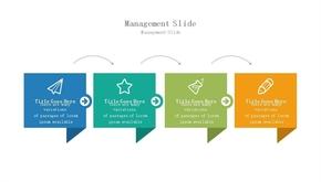 步骤流程说明文本框PPT(共1页)