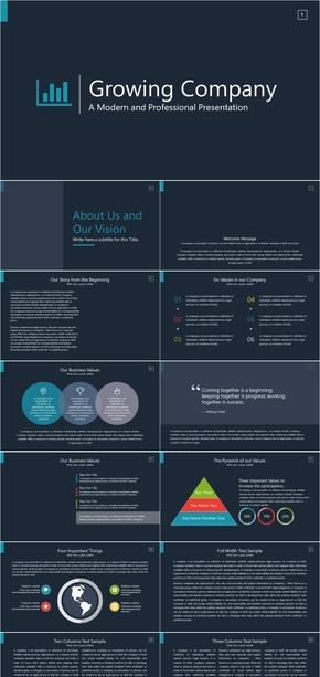 商务、咨询、管理PPT模板