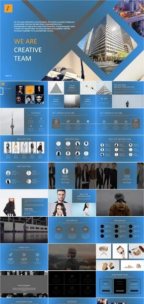 业务宣传.欧式图文排版时尚