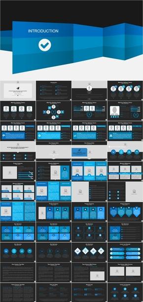 动感创意汽车营销策划方案产品发布模板200页