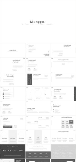 简约iOS风格室内家具设计