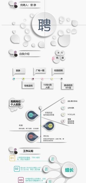 11._简历 简介_竞聘PPT