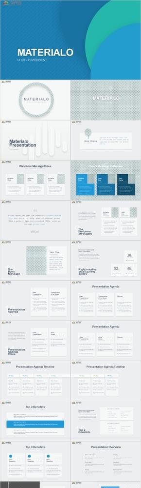 淡绿色总结、计划、简历、汇报