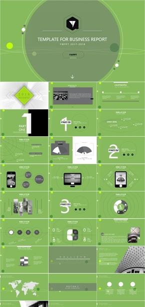 科技环保点线组合