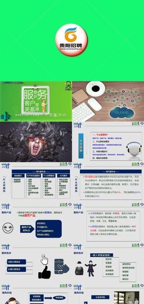 3 通用培训教程((客服服务、呼叫中心)整套10节-服务意识与客户关系管理