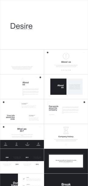 令人惊叹的专业布局和创意设计