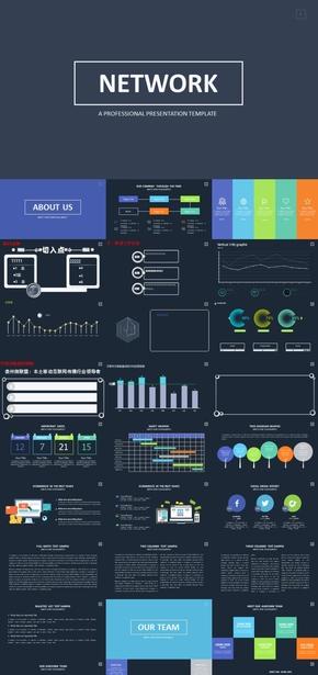 科技类iOS商务模板
