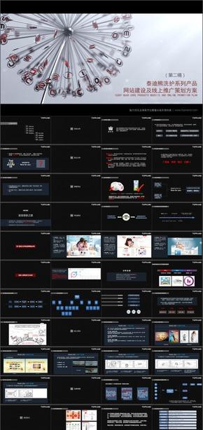 [紫尚作品]041洗护系列产品网站建设及线上推广策划方案