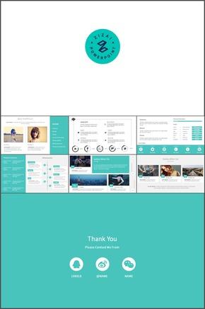 简历-05.国外大气杂志风时尚设计简历模板应聘通用介绍公司模板