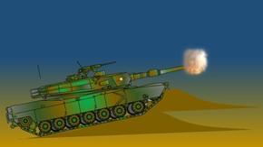 迷彩鼠绘坦克