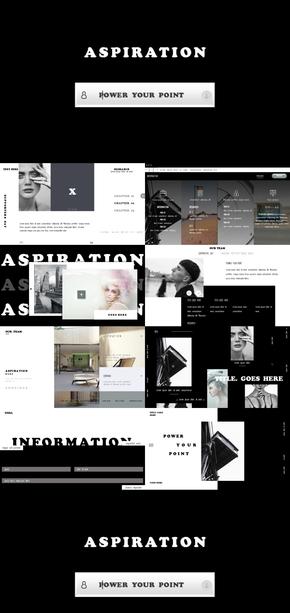 动画模板|商务|简约|UI风|PPT模板