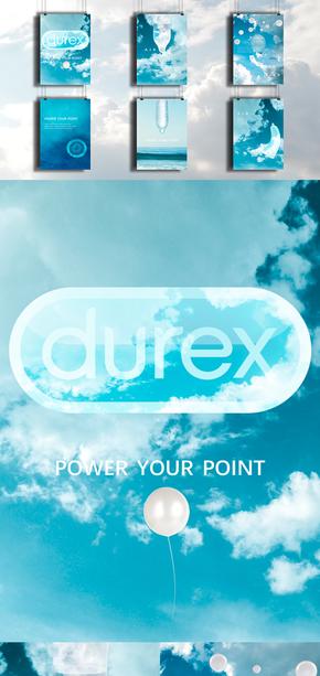杜蕾斯|Durex|air|空气套|两性主题|PPT模板