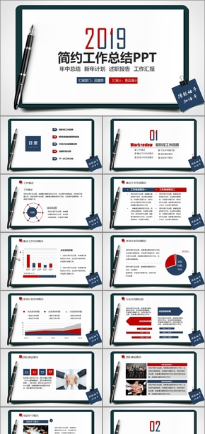 创意个性述职报告工作总结报告年终总结工作汇报工作总结工作计划商务报告营销报告