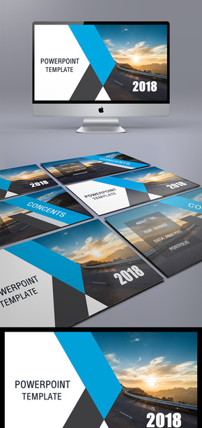 总结模板通用商务模板架构完整商务汇报模板展示模板