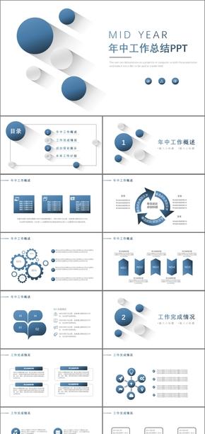蓝色微立体商务工作总结报告年终总结工作汇报工作总结工作计划月度总结季度总结工作总结
