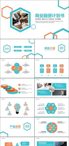 高端商业计划书商业创业融资商业计划书PPT模板商业计划书互联网商业