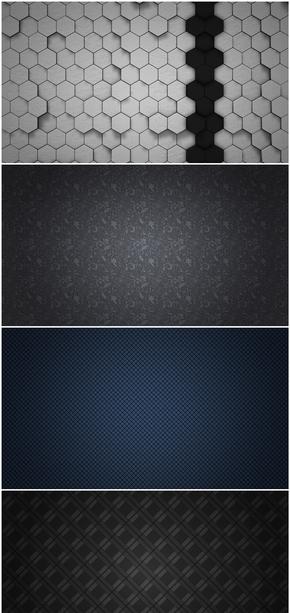 精选7款高清质感纹理花纹PPT背景图片