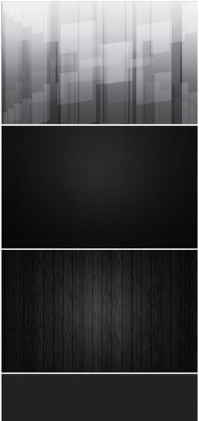 精选23款黑色系PPT背景图片合集