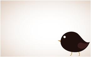 精选1款可爱卡通小鸟PPT背景图片