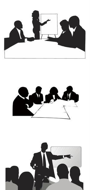 精选5套会议研讨培训剪影PPT素材