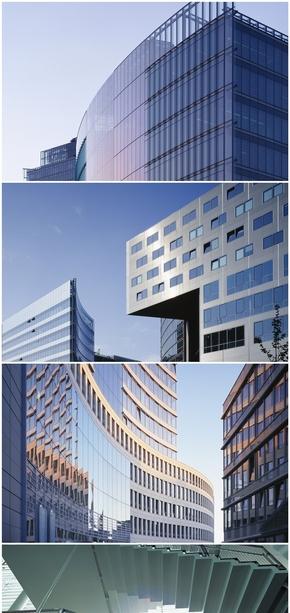 精选11款高清商务大楼PPT背景图片
