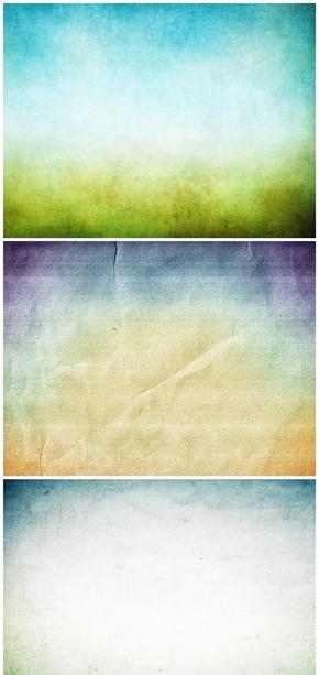 精选4款复古牛皮纸PPT背景图片