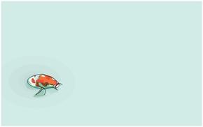 精选1款鲤鱼锦鲤鱼儿PPT背景图片