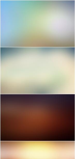 精选8款IOS虚化效果PPT背景图片