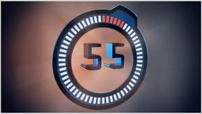 1分钟倒计时PPT模板含视频企业年会节日庆典跨年文艺演出产品发布会片头震撼大气科技计时器