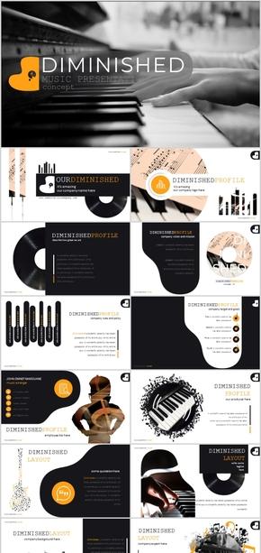 音乐学校ppt模板钢琴教师公开课投影片ppt设计创意钢琴工作总结计划汇报项目招标商业计划书销售模板