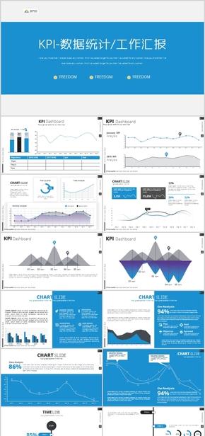 工作报告经营分析工作计划PPT述职报告业绩分析务虚会财务营销部检查汇报季度总结PPT会议企业经营分析