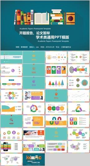 毕业设计学术研究PPT模板