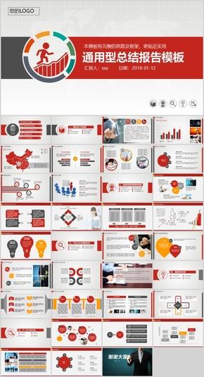 通用型总结报告计划PPT模板