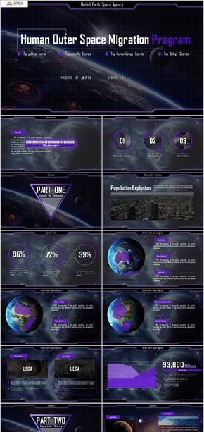 人类外太空移民计划商务策划