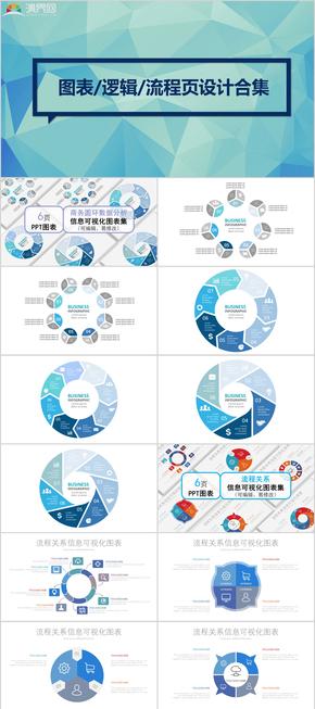 图表、逻辑、流程页设计合集