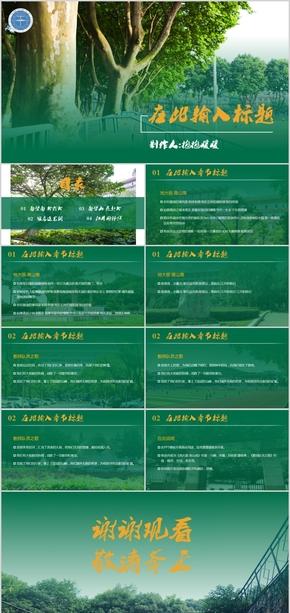 【蚊香】中国地质大学通用ppt模板