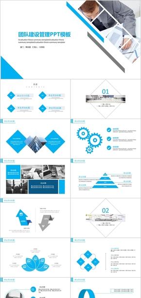 企业团队建设管理PPT模板